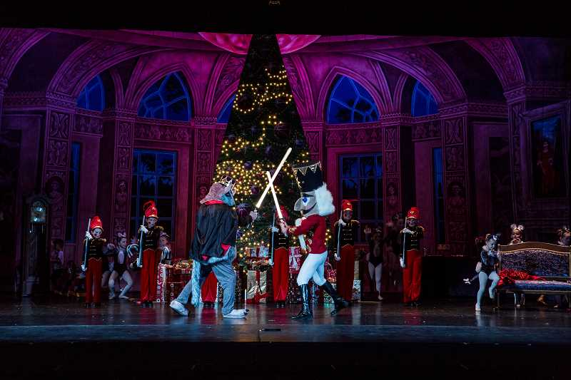 COURTESY PHOTO: HP STUDIOS LLC - Inspire Dance Center will perform 'An Evening with the Nutcracker' at Mt. Hood Community College in mid-December.