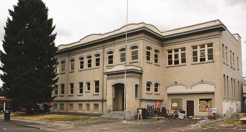 INDEPENDENT FILE PHOTO - Woodburn's former city hall building, which is located on First Street, pictured in 2016.