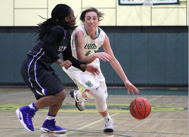 TIDINGS PHOTO: MILES VANCE - West Linn senior guard Lexie Pritchard and the Lions believe they can win a Class 6A state tournament berth — their first since 2012 — this season.