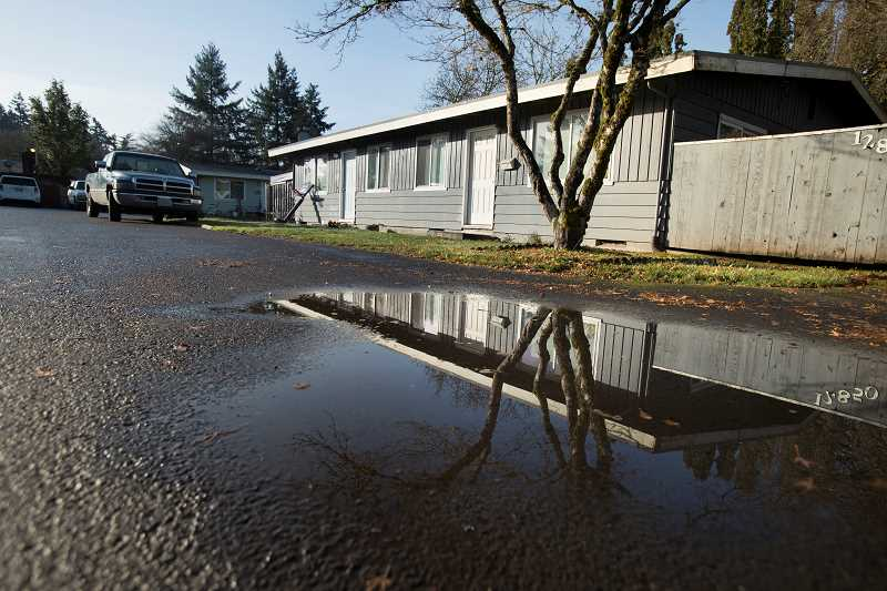 THE TIMES: JAMIE VALDEZ - Some Beaverton residents have been living without running water for more than a month. One landlord is urging the city to turn the water on.
