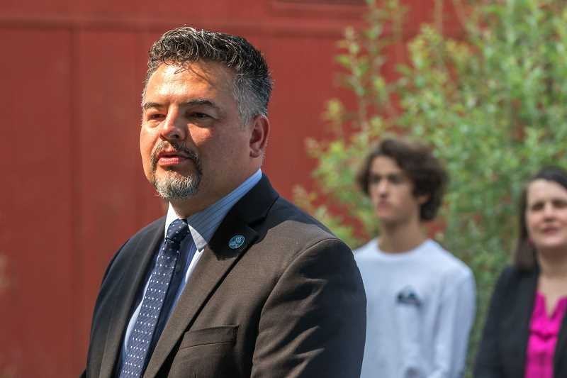 JONATHAN HOUSE/THE PORTLAND TRIBUNE - Portland Public Schools' superintendent, Guadalupe Guerrero, started in October.