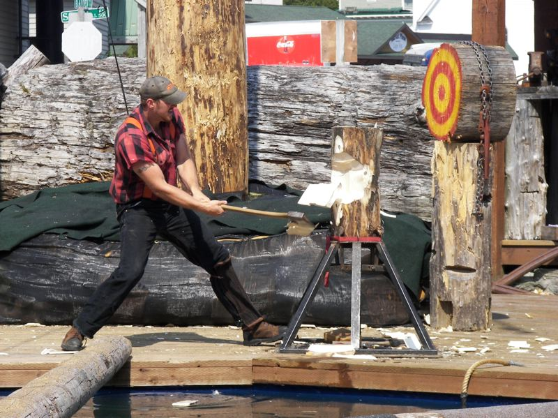FILE PHOTO - Washington County Museum hosts a free Family Day Saturday with activities about local logging.