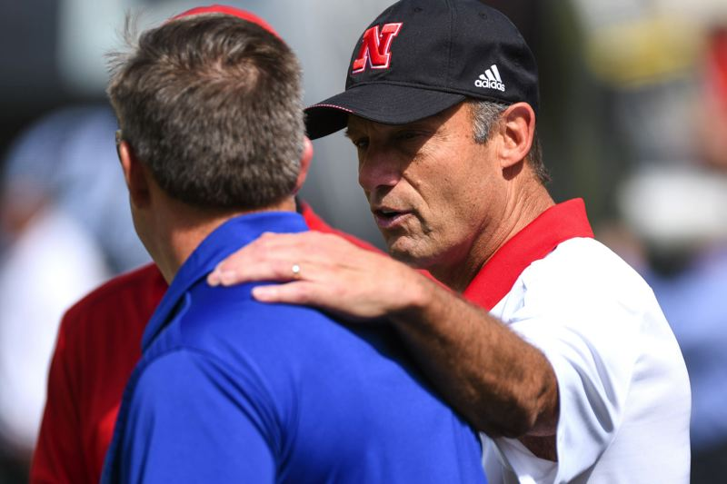 Former Nebraska coach Riley hired as an assistant coach at Oregon State