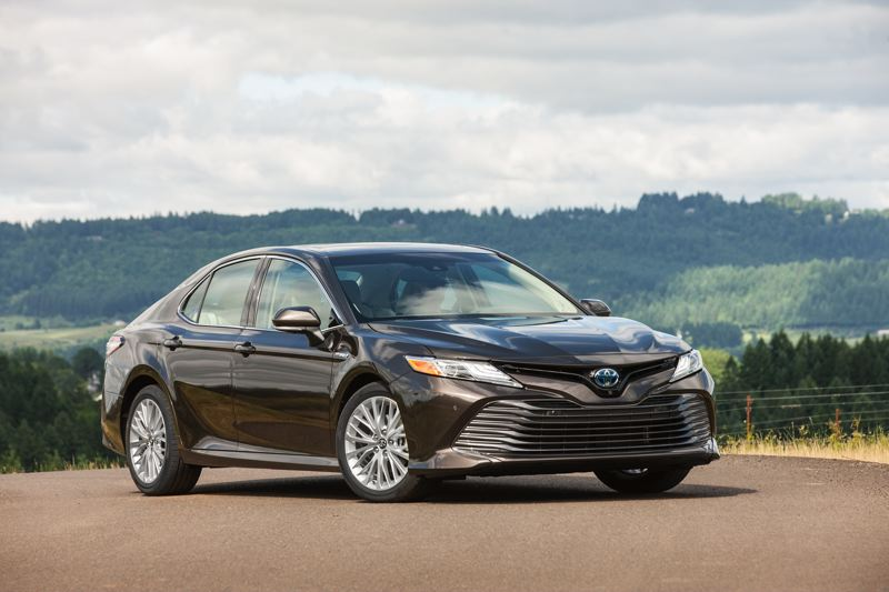 TOYOTA MOTOR NORTH AMERICA - The completely redesigned 2018 Toyota Camry is a striking, comfortable, smooth riding family car that also saves on gas.