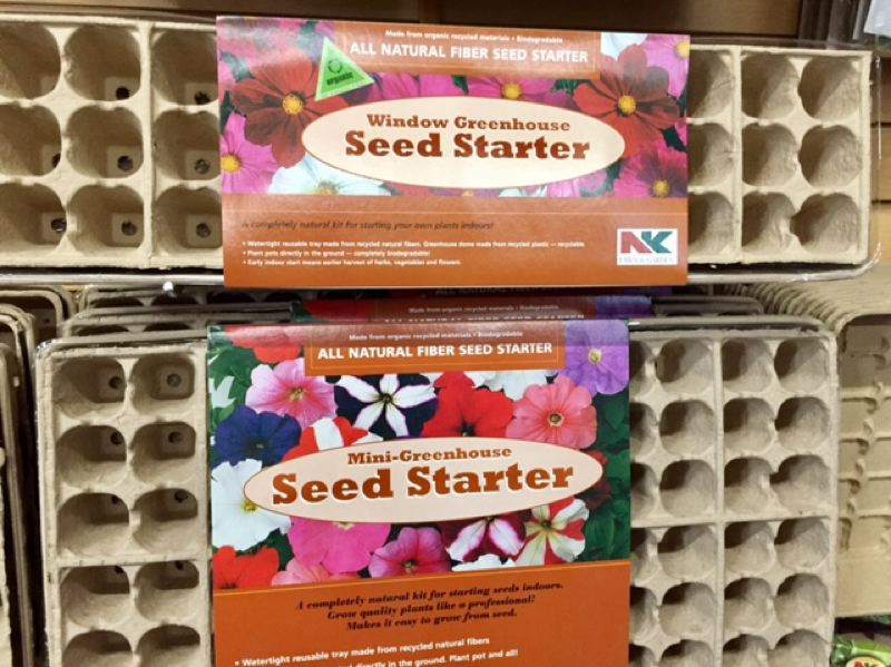 """COURTESY OF CYNTHIA ORLANDO  - Nothing says """"spring is coming"""" like seed starter kits or wildflower packets."""