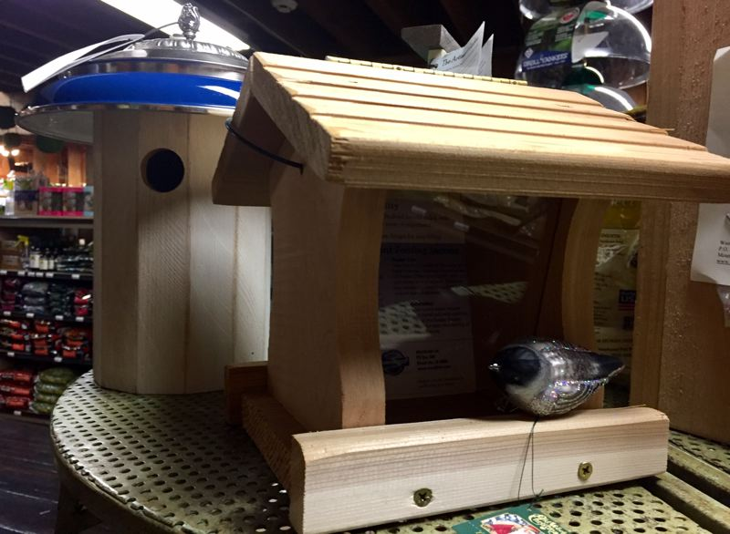 COURTESY OF CYNTHIA ORLANDO  - A new bird house under the tree is sure to please.