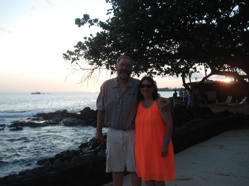 PHOTO COURTESY: KATHRYN EASTWOOD - Troy and Kathryn Eastwood in Hawaii in July 2017.