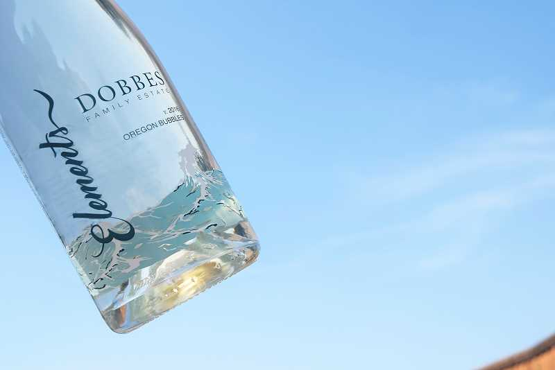 SUBMITTED PHOTOS:  - Dobbes Family Estate has released Elements, its first Oregon sparkling wine.  A portion of proceeds from the inaugural release benefit The Washed Ashore Project.