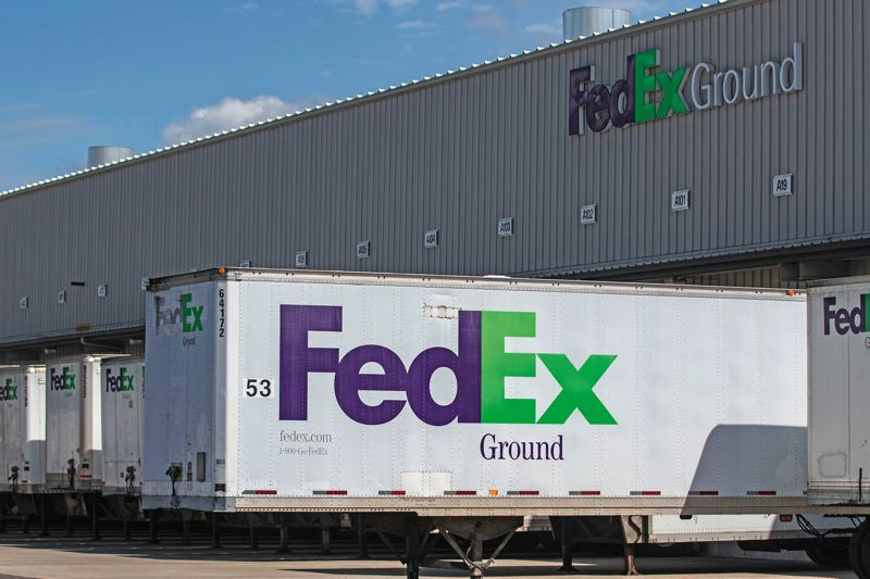 TRIBUNE FILE PHOTO - FedEx is on board with the Blockchain in Trucking Alliance (BiTA), which aims to foster the development of uniform blockchain standards through increased collaboration among transportation industry leaders.