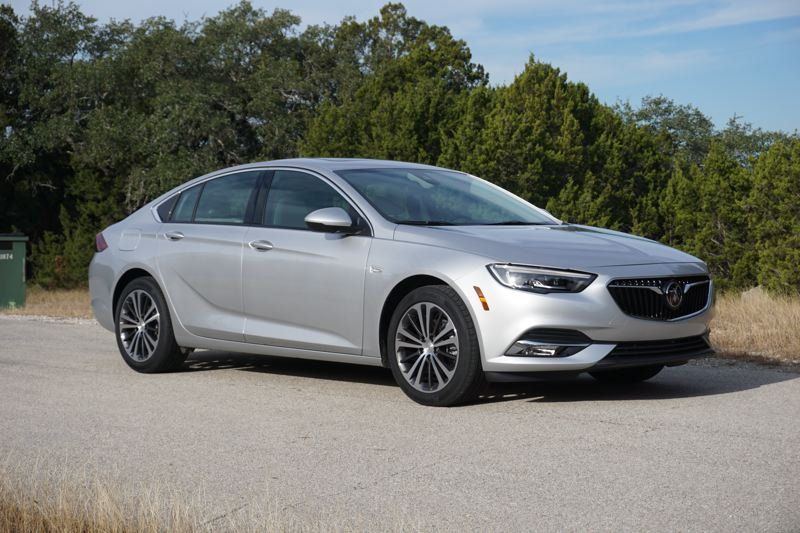 PORTLAND TRIBUNE: JEFF ZURSCHMEIDE - On the road, the Regal Sportback is fun to drive and crisp in its handling. The AWD version is the one Oregonians will want, and it runs about $2,000 more than a comparable FWD car. The AWD Regal is a little more planted on the road, and drives better.