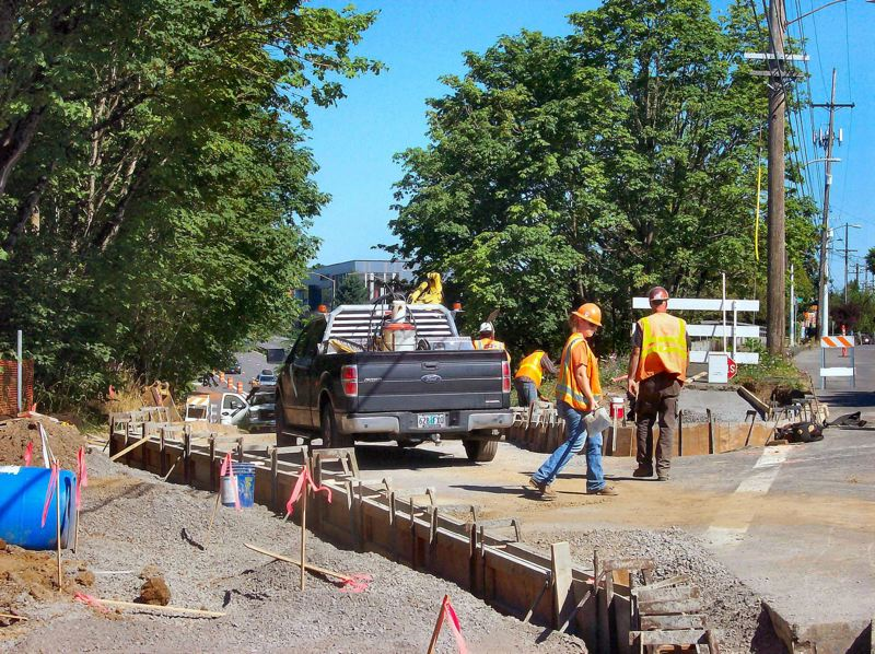 PAMPLIN MEDIA GROUP FLLE PHOTO - Oregon's Department of Transportation plans to ask for more than 150 new positions to deliver road and bridge projects approved by the Legislature.