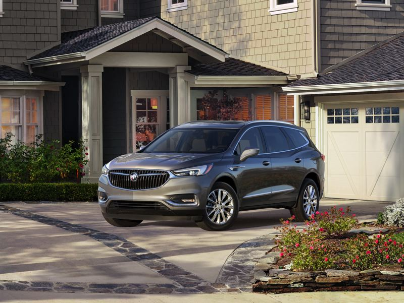 COURTESY GENERAL MOTORS - The redesigned 2018 Buick Enclave is ideal for large families or small families with a lot of friends.