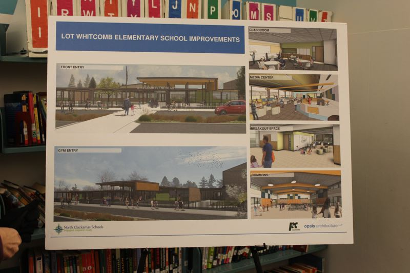 PHOTO BY: MADISON DALLING-RAISNER - Opsis Architecture and P&C Construction are helping the North Clackamas School District with projects at Lot Whitcomb.