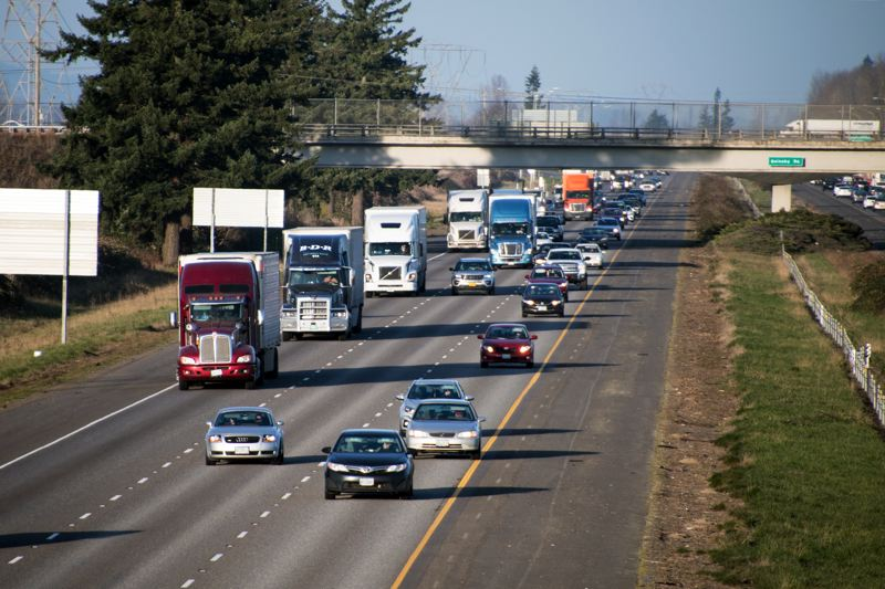 COURTESY: ODOT - Congestion pricing is seeing rapid implementation around the world, but the prospect of bringing it to the Portland metro area has trucking companies worried.