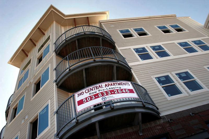 PAMPLIN MEDIA GROUP FILE PHOTO - Metro has supported market-rate housing like the Third Central apartments in Gresham in the past. The regional government is now focusing on affordable housing.