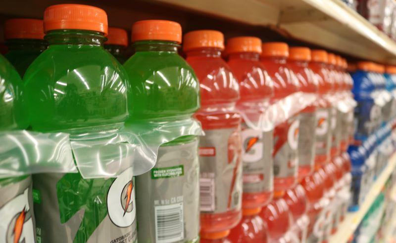 OUTLOOK PHOTO: ZANE SPARLING - Gatorade will cost Oregonians an extra 10 cents at the register starting in 2018.