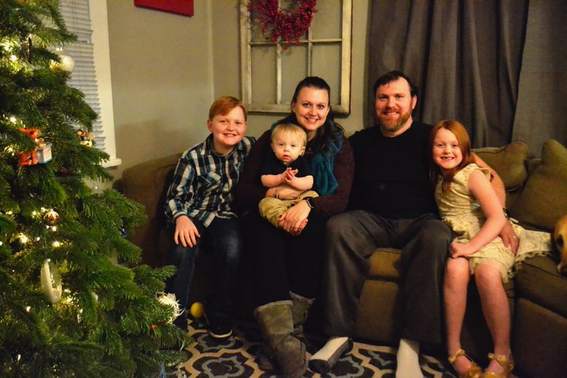 POST PHOTO: BRITTANY ALLEN - The Hellers have fostered their son for 14 months.