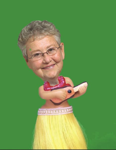 FILE PHOTO - A Sharon Nesbit Bobblehead doll? Is this the holidays hottest selling gift?