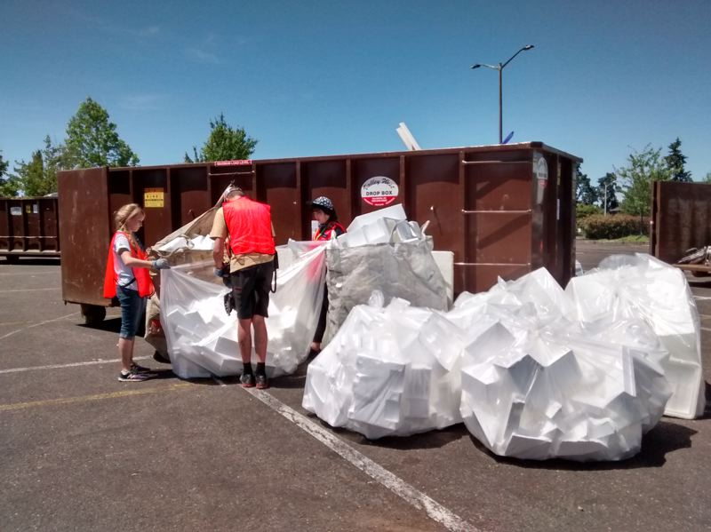 COURTESY PHOTO - Recycle your polystyrene packaging Jan. 6 at PlanetCon 2018.