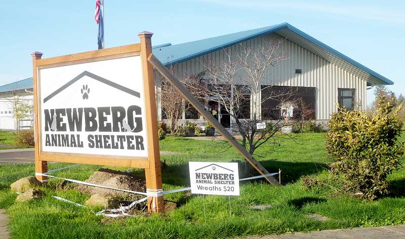 GARY ALLEN - The effort to construct a new animal shelter in Newberg took decades as a nonprofit group raised the money via fundraising efforts. The city of Newberg joined with the group by allotting land and additional funding for the building.