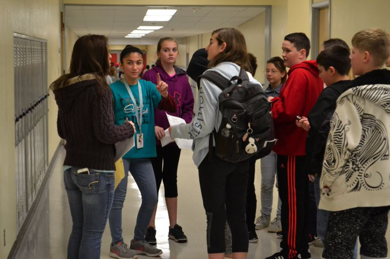 POST PHOTO: BRITTANY ALLEN - The students of Cedar Ridge Middle School were able to move into the renovated Pioneer campus on Nov. 27.