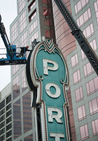 PAMPLIN MEDIA GROUP: JAIME VALDEZ - The Portland sign got a makeover.