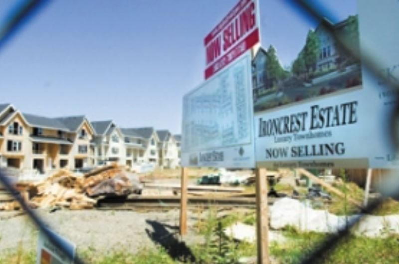 FILE PHOTO - Ironcrest Estates was attracting its first buyers in 2006.