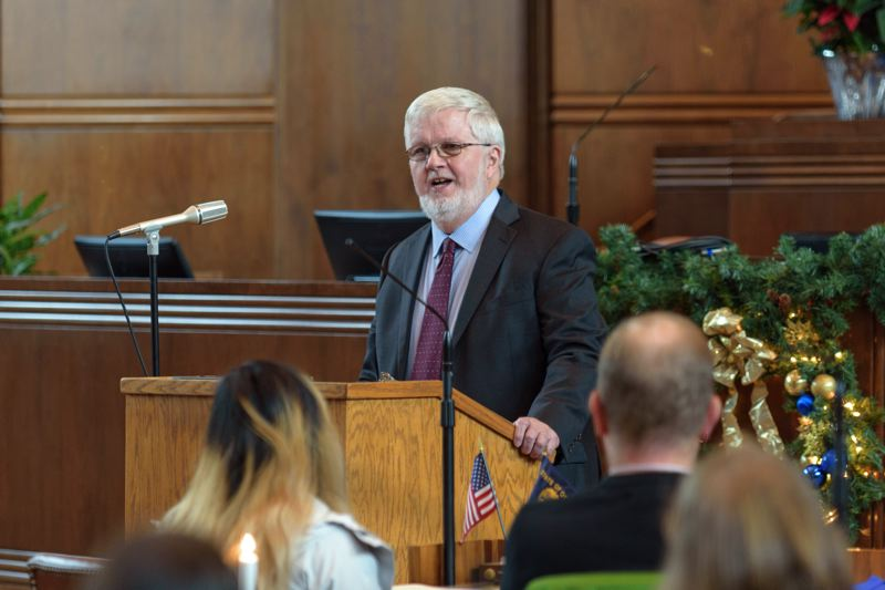 FILE PHOTO - Sen. Richard Devlin of Tualatin has left the Legislature to take a leadership role in an interstate compact, created by Congress, to address energy and fish-and-wildlife issues for Oregon, Washington, Idaho and Montana.