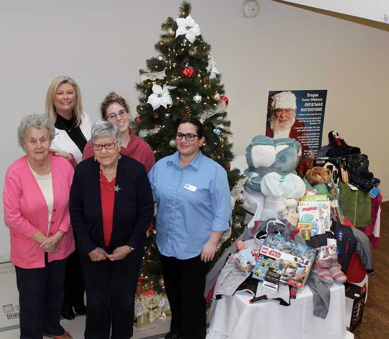 THE TIMES: MANDY FEDER-SAWYER - Tags with gift requests were disbursed around King City to provide foster youth with presents this holiday season.