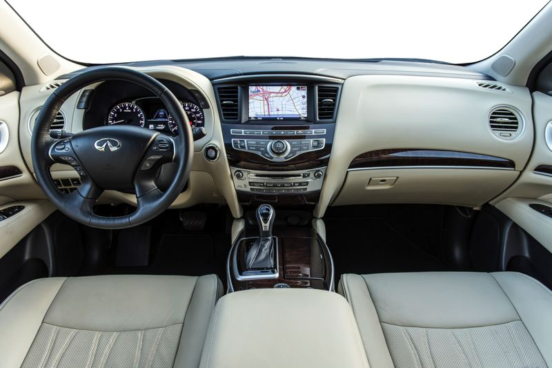 INFINITI NORTH AMERICA - The interior of the 2018 Infiniti XC60 is roomy and opulent.
