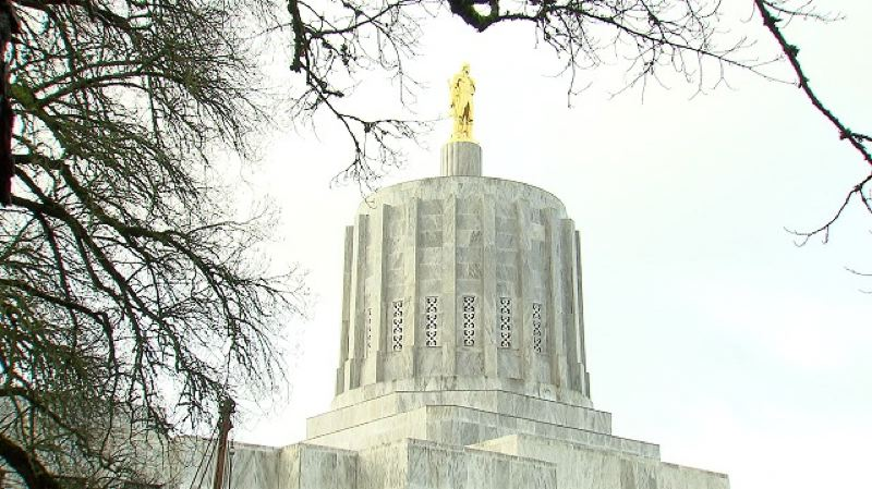 KOIN 6 NEWS PHOTO - The Oregon Capitol building in Salem.