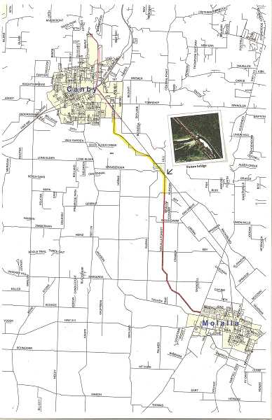 A donation of land brings Canby and Molalla a little closer for a desired bike and pedestrian trail between the two towns.