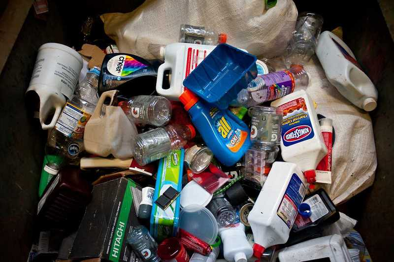 PAMPLIN MEDIA GROUP FILE PHOTO - Which of these things dont belong? Confusion regarding what items are recyclable curbside has led most of us to toss nearly everything in -- just in case.
