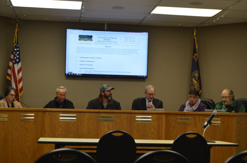 SPOTLIGHT PHOTO: NICOLE THILL - The St. Helens City Council voted to award a contract to Portland-based environmental consulting agency Maul Foster Alongi to oversee a brownfield identification project. Maul Foster Alongi was one of three companies to submit applications in late 2017.
