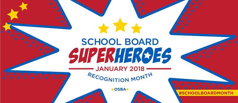 PHOTO COURTESY OF OREGON SCHOOL BOARDS ASSOCIATION - January is School Board Recognition Month.