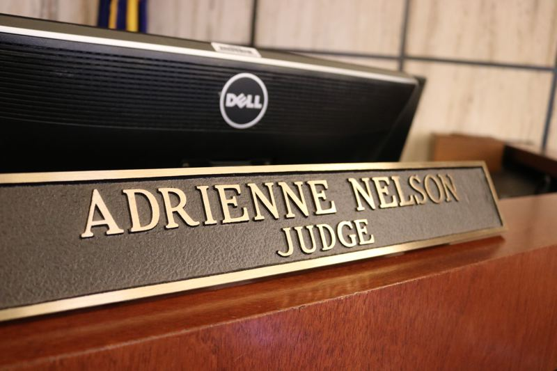 OUTLOOK PHOTO: ZANE SPARLING - Adrienne Nelson is the first African American ever appointed to Oregons highest court.