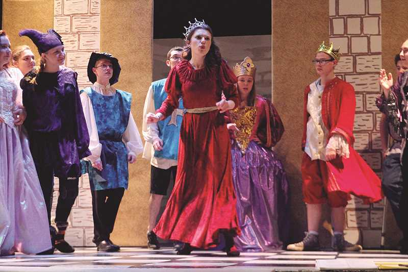 "INDEPENDENT FILE PHOTO - North Marion students, appearing here in November 2017's production of ""Once Upon a Mattress"" will direct a production Saturday for the North Marion Players' annual dessert theater fundraiser."