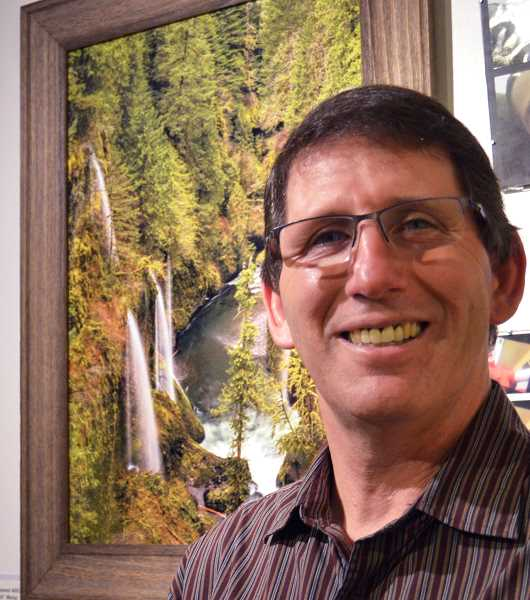 PIONEER PHOTO: CINDY FAMA - Vldn Taylor pauses for a photo at Spiral Gallery where he is a featured artist for January.
