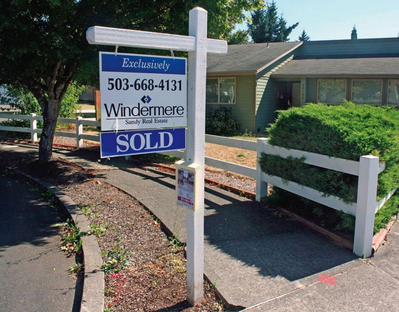 PORTLAND TRIBUNE FILE PHOTO - Oregon remains a popular destination for people moving from other states, putting upward pressure on home-sale prices and rents.