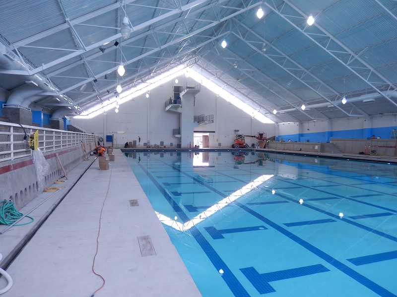 COURTESY: THPRD - The Tualatin Aquatic Center will reopen on Tuesday, after being closed for construction for nearly five months.