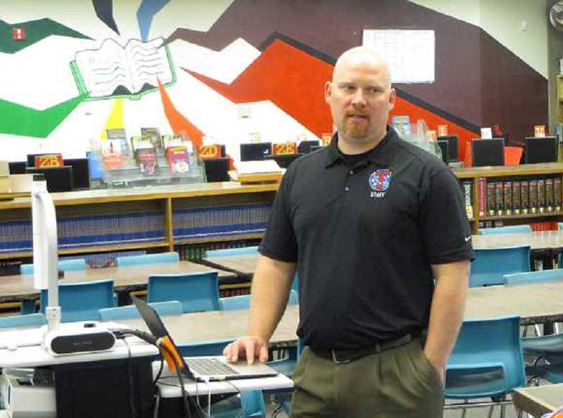 COURTESY PHOTO: ART HEERWAGEN - Neil Armstrong Middle School Principal Brandon Hundley has resigned his position after taking a year-long leave of absense last school year.