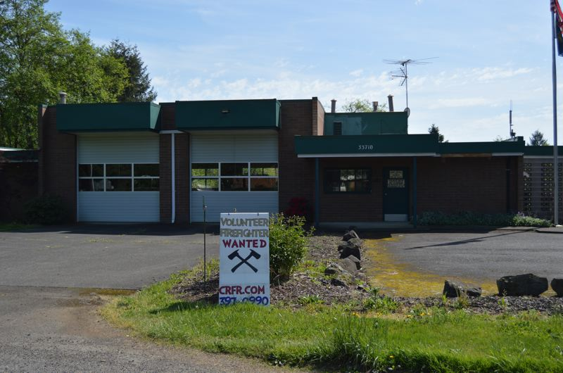 SPOTLIGHT FILE PHOTO - A 2017 review of emergency services provided by Scappoose Fire District and Columbia River Fire and Rescue has resulted in upgraded Insurance Service Office ratings for many areas of Columbia County, which could decrease fire insurance rates. The Deer Island substation was improved during the review process when CRFR was able to purchase a Type 1 fire engine to reside at the station permanently.