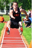 by: JOHN BREWINGTON - Scappoose's Paul Revis was second in the long jump, third in the 100, and ran in both relay teams that placed.
