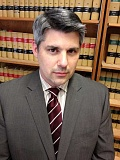 by: SUBMITTED PHOTO - Attorney Brian Starns has practiced criminal law for more than 15 years. He was recently sworn in as Tualatins newest municipal judge pro tempore.