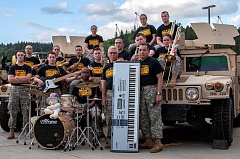 by: COURTESY PHOTO - The 234th Army Band tours Oregon and will make a stop in Cornelius this month.