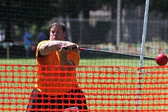 by: NEWS-TIMES PHOTO: AMANDA MILES - Dan Taylor of Forest Grove competes in the heavy hammer event at the 62nd annual Portland Highland Games last Friday at Mt. Hood Community College in Gresham. Taylor threw 60 feet to win the event as part of the masters men's 60-plus class.