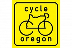 Photo Credit: SUBMITTED LOGO - Cycle Oregon riders hit town Sept. 10 for a two-night stay.