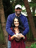Photo Credit: TRIBUNE PHOTO: JAIME VALDEZ - Teri Kersey and husband Jerome Kersey, former Trail Blazers star, are staying positive about her battle with multiple sclerosis.