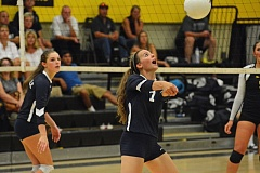 Photo Credit: SUBMITTED PHOTO: JOHN HOWARD - Wilsonville volleyball lost a tough match to one of the Northwest Oregon Conference's top contenders Tuesday night.