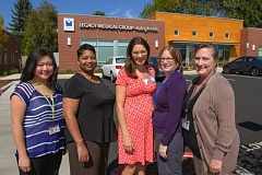 Photo Credit: COURTESY: LEGACY HEALTH - Legacy Medical Group recently expanded to Portland's west side with their Raleigh Hills office. Pictured here are some of the medical providers at the Raleigh Hills location.